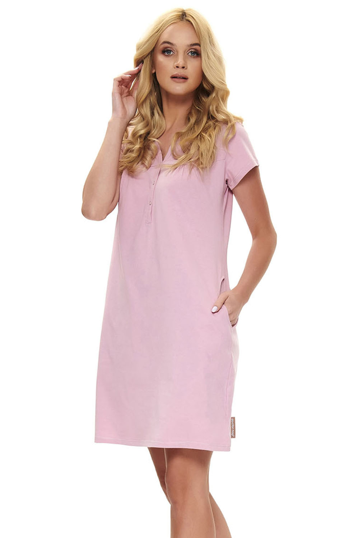 Doctor Nap Doctor Nap TCB.9711 - Koszulka nocna do karmienia dla kobiet w ciąży i mam karmiących