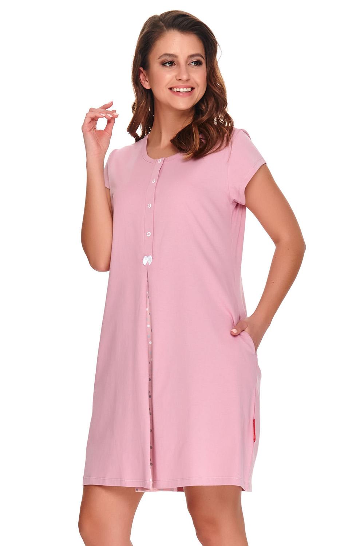 Doctor Nap Doctor Nap TCB.9703 - koszulka nocna dla kobiet w ciąży i mam karmiących
