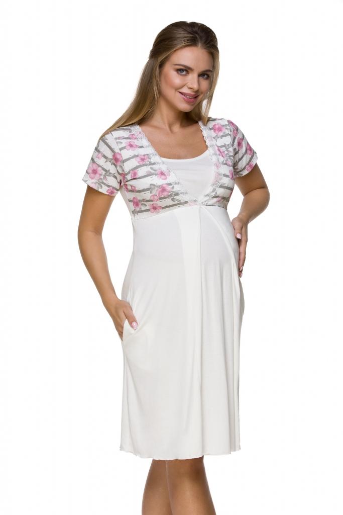 Lupoline Koszula Nocna ciążowa i do karmienia 3121