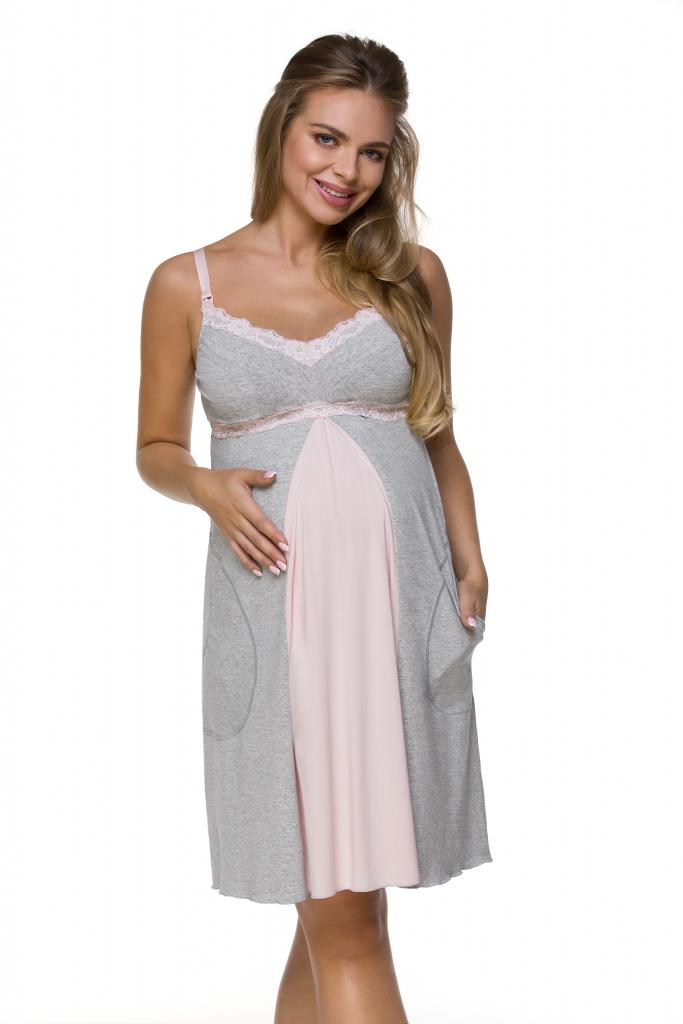 Lupoline Koszula Nocna ciążowa i do karmienia 3124