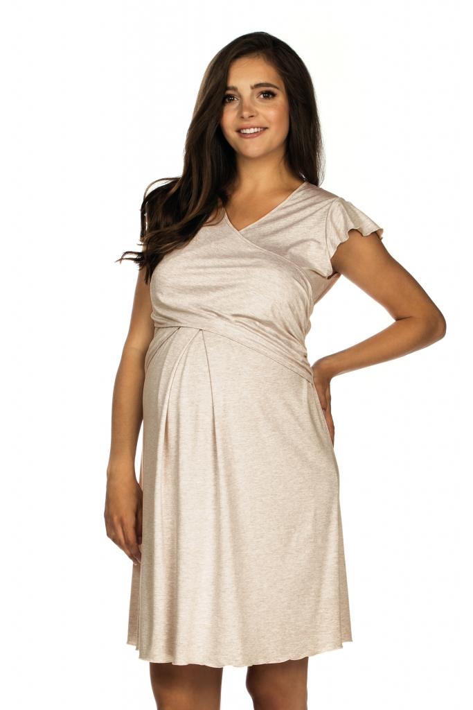 Lupoline Koszulka ciążowa i do karmienia 3081