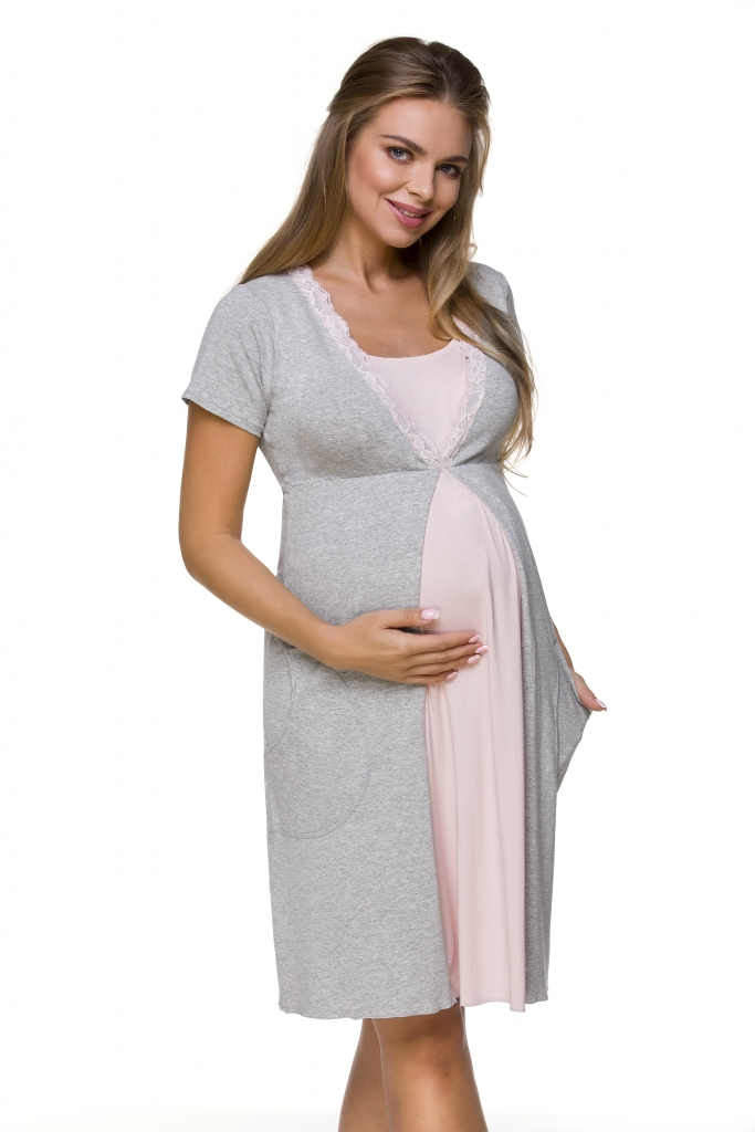 Lupoline Koszulka nocna ciążowa i do karmienia 3125