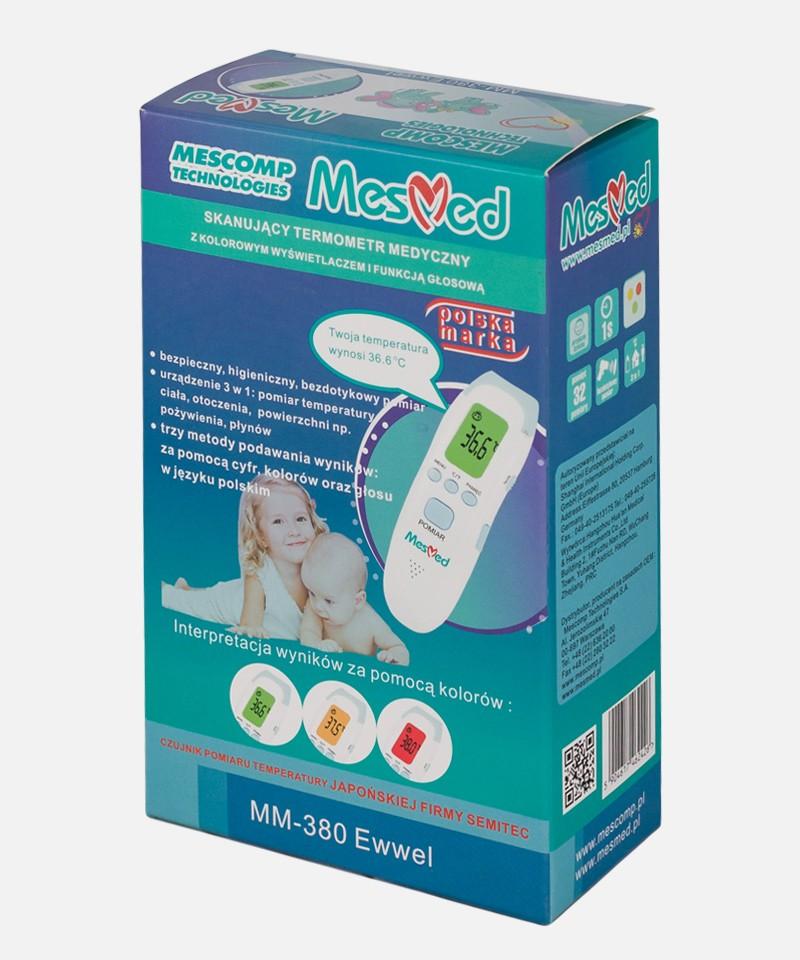 MesMed MESMED MM-380 EWWEL Skanujący termometr medyczny